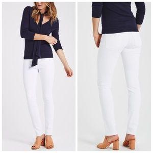 AG The Stilt White Skinny Jeans Size 25